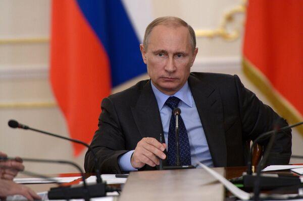 Président russe Vladimir Poutine - Sputnik France