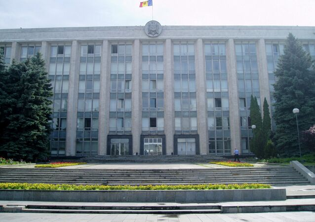 Siège du gouvernement moldave