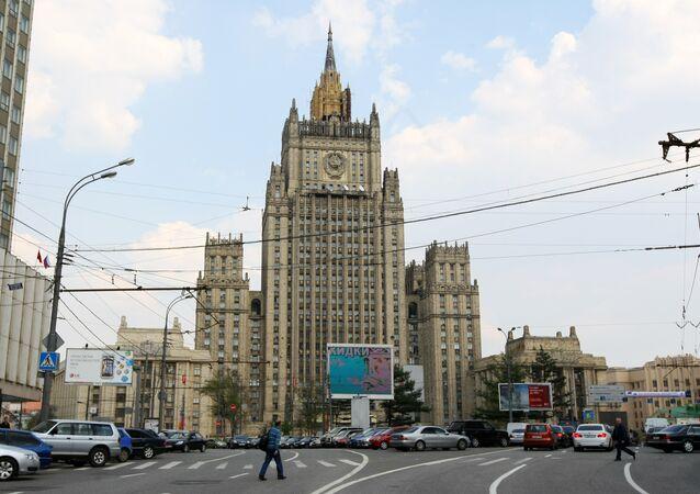 Le ministère russe des Affaires étrangères (archive photo)