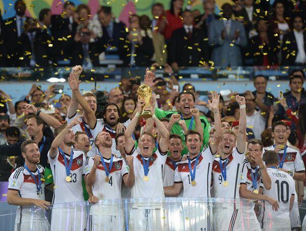 Mondial: l'Allemagne championne - Sputnik France