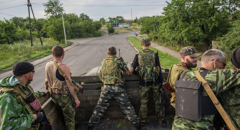 Forces d'autodéfense du Donbass.