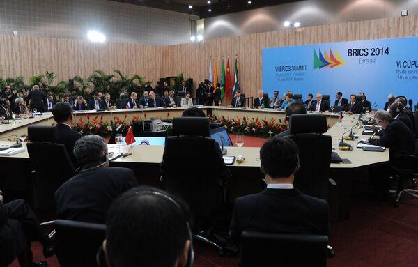 BRICS: ouverture du sommet au Brésil - Sputnik France