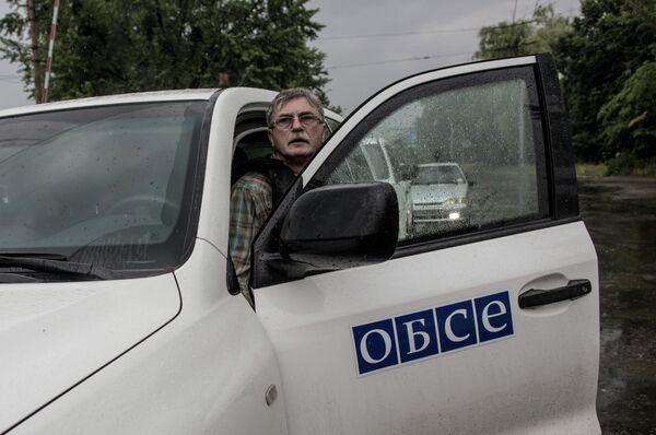 Frontière russo-ukrainienne: une mission de l'OSCE déployée le 16 juillet - Sputnik France