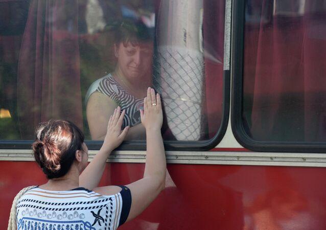 réfugiés de Donetsk
