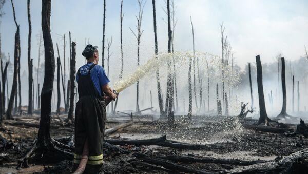 Feux de tourbière: la fumée atteint Moscou - Sputnik France