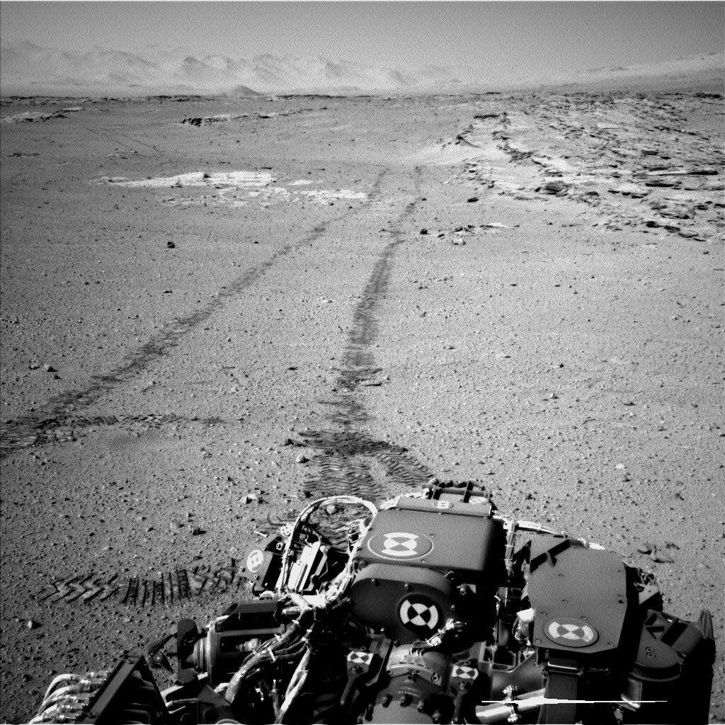 Le rover martien Curiosity et ses images
