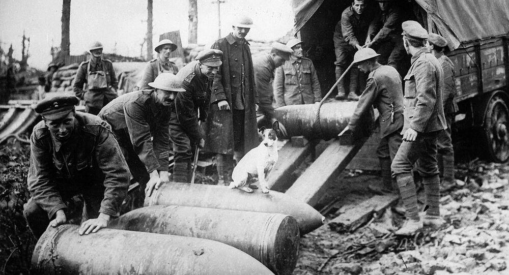 Des munitions lors de la Première Guerre mondiale (image d'illustration)