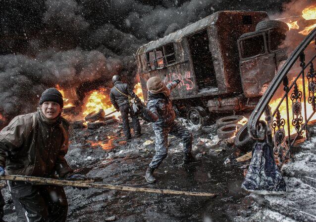 Situation à Kiev