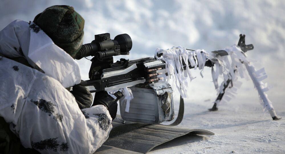 Brigade arctique russe: exercices en conditions extrêmes