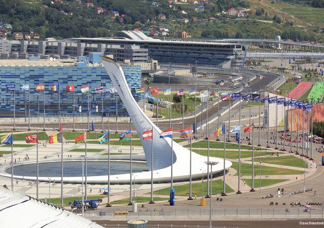 Circuit de F1 à Sotchi