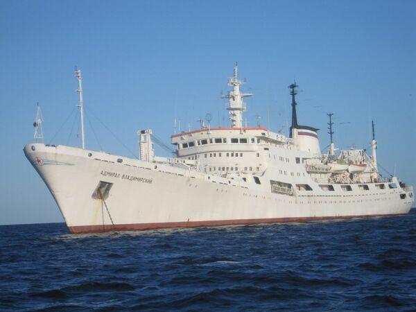 Navire océanographique russe Admiral Vladimirski - Sputnik France