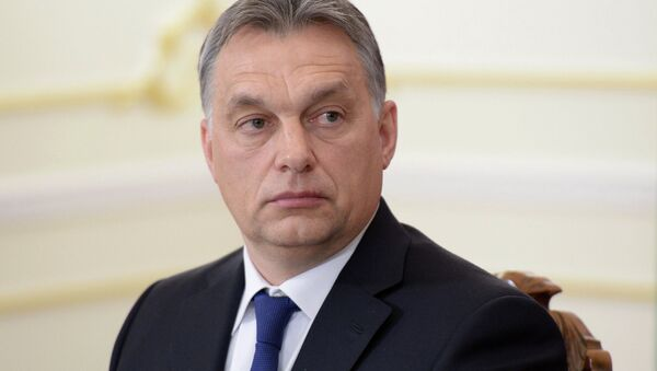 Премьер-министр Венгерской Республики Виктор Орбан. Архивное фото - Sputnik France
