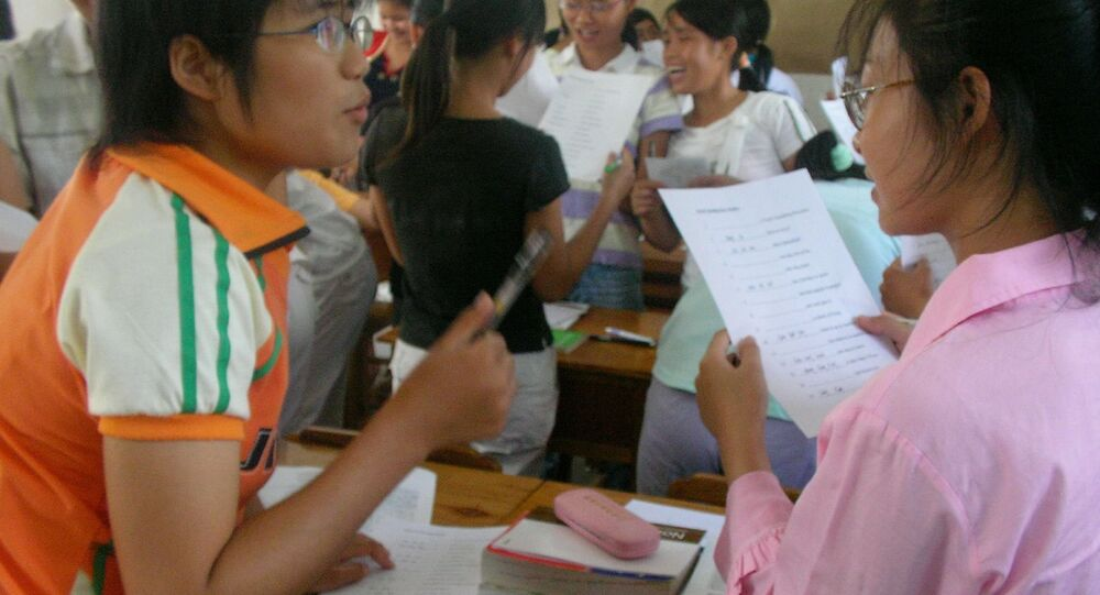 Etudiants chinois