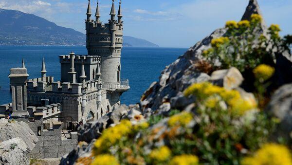 Le chateau Nid d'hirondelle, un symbole de la Crimée - Sputnik France