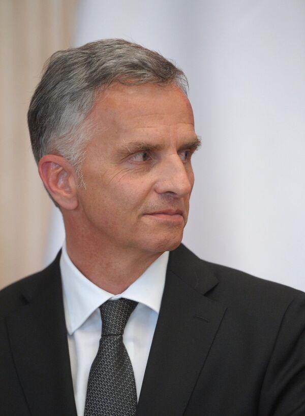 Didier Burkhalter - Sputnik France