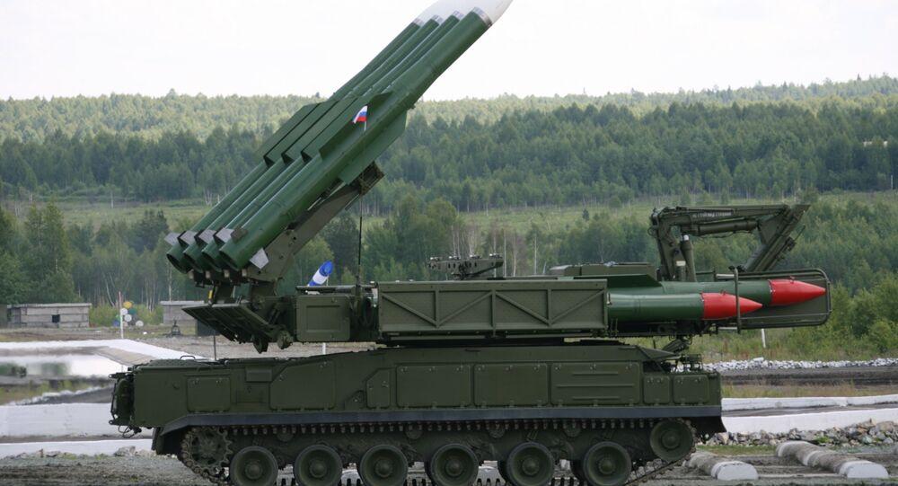 Missile Bouk-M2E. Archives