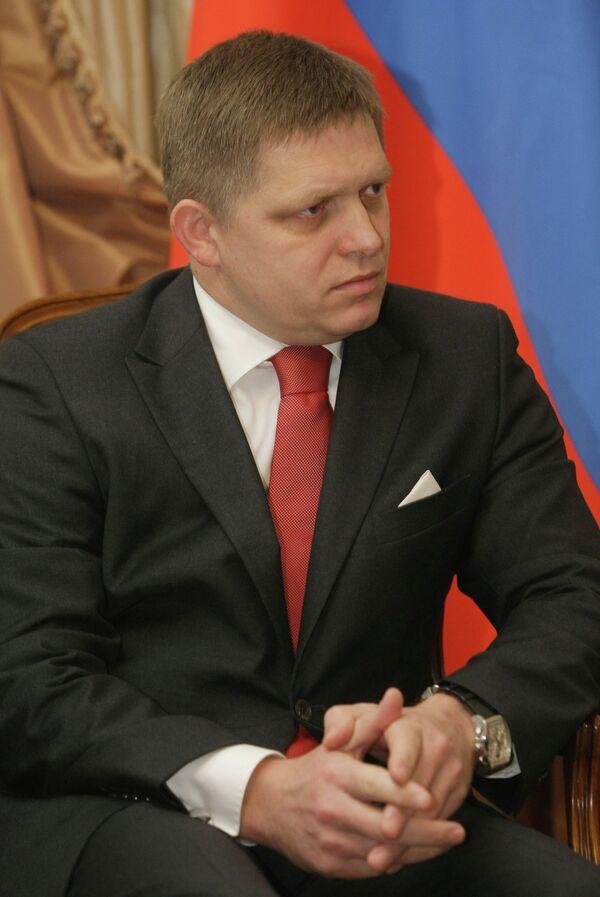 Le premier ministre slovaque Robert Fico - Sputnik France