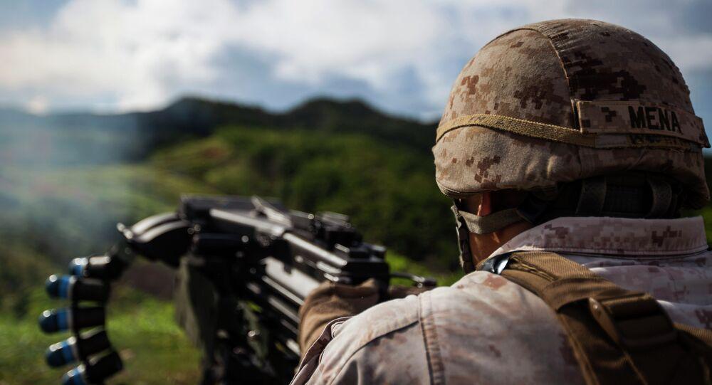 un soldat américain