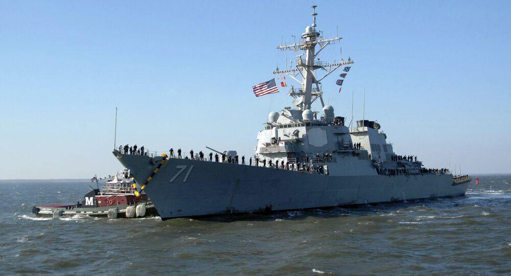 L'USS Ross