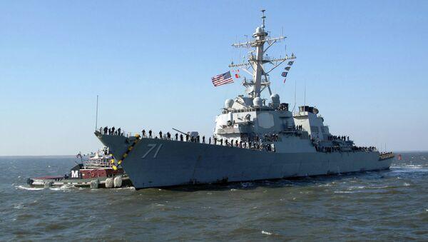 USS Ross - Sputnik France