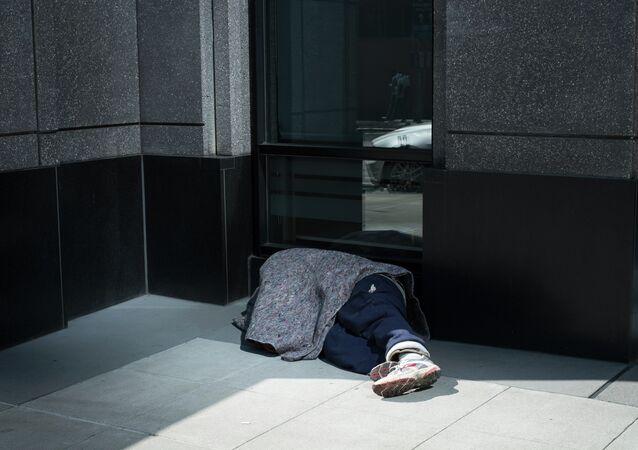 Un sans-abri