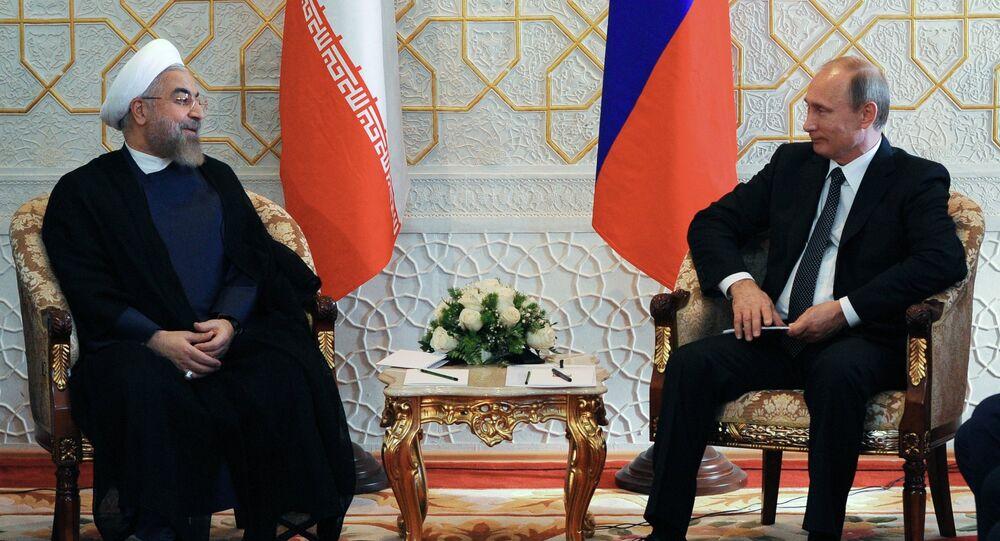В.Путин принимает участие в саммите ШОС в Душанбе