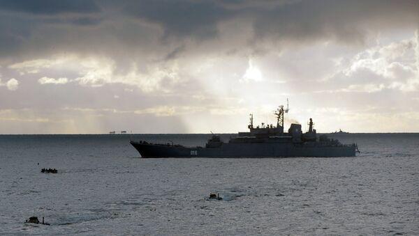 La Marine russe réalise des exercices en Arctique - Sputnik France