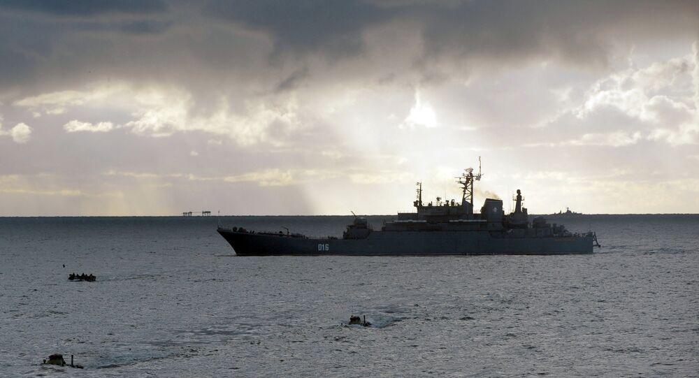 Un navire de débarquement du projet 775 (Archives)