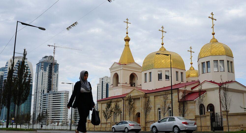 Сathédrale de l'Archange-Saint-Michel à Grozny