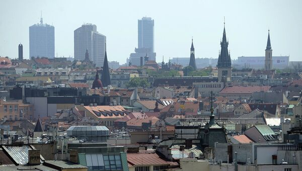 Вид на центр Праги - Sputnik France