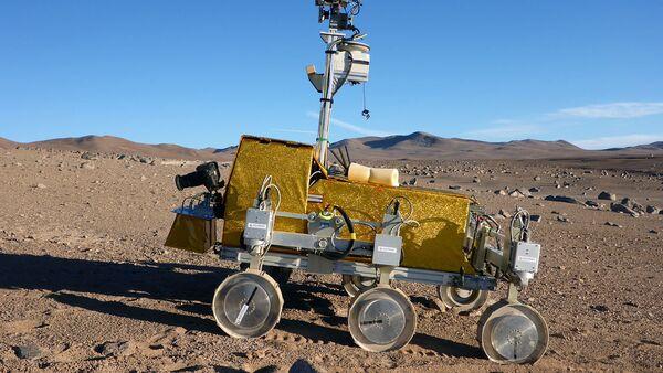 Prototype d'un rover martien européen - Sputnik France