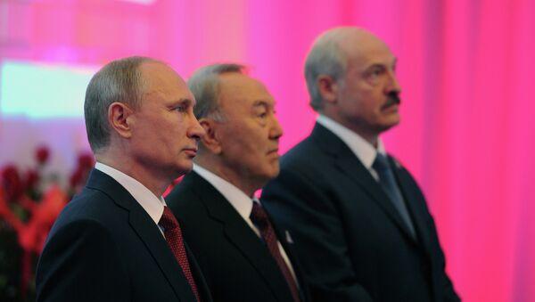 Рабочий визит В.Путина в Астану для участия в заседании ВЕЭС - Sputnik France