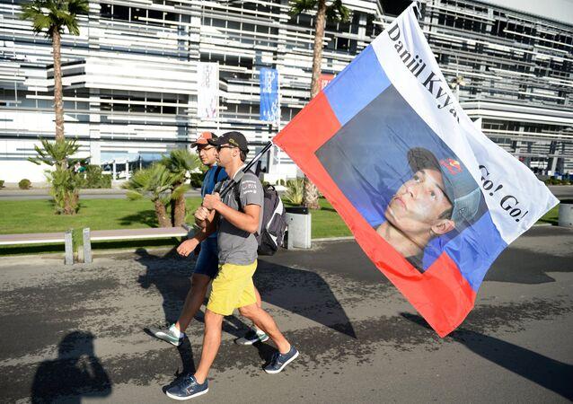 Sotchi se prépare au premier GP de Russie de Formule 1