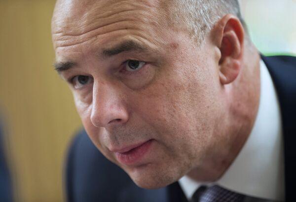 Anton Silouanov, ministre des Finances de la Russie - Sputnik France