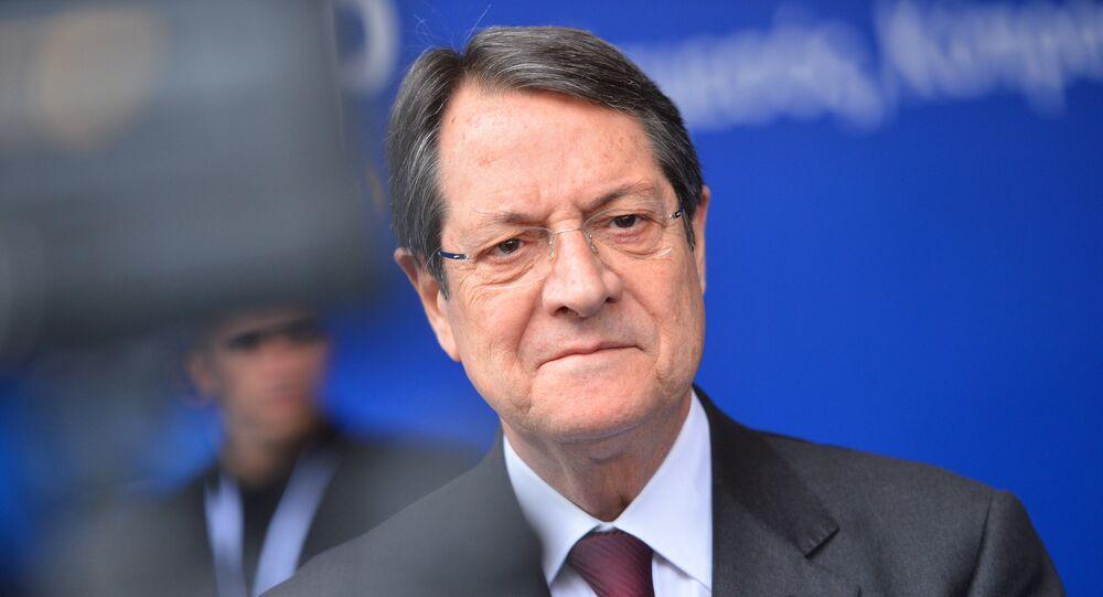 Président chypriote Nikos Anastasiadis