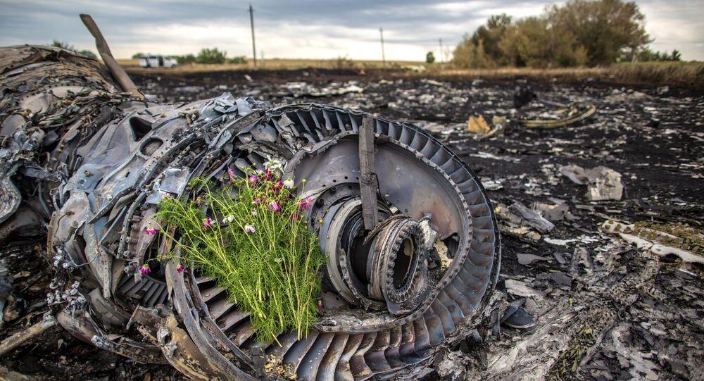 Le lieu du crash du Boeing 777 malaisien en Ukraine