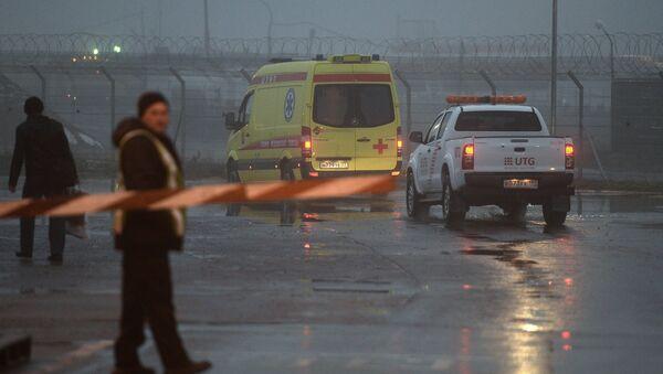 L'avion du PDG de Total s'écrase à l'aéroport de Vnoukovo - Sputnik France