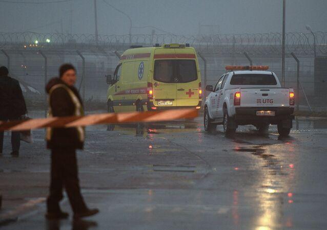 Crash du Falcon du PDG de Total à Vnoukovo