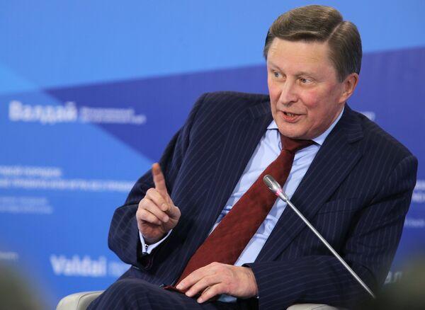 Sergueï Ivanov, directeur de l'administration du président de Russie - Sputnik France