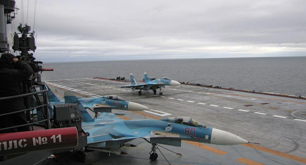 Porte-avions. Photo d'illustration