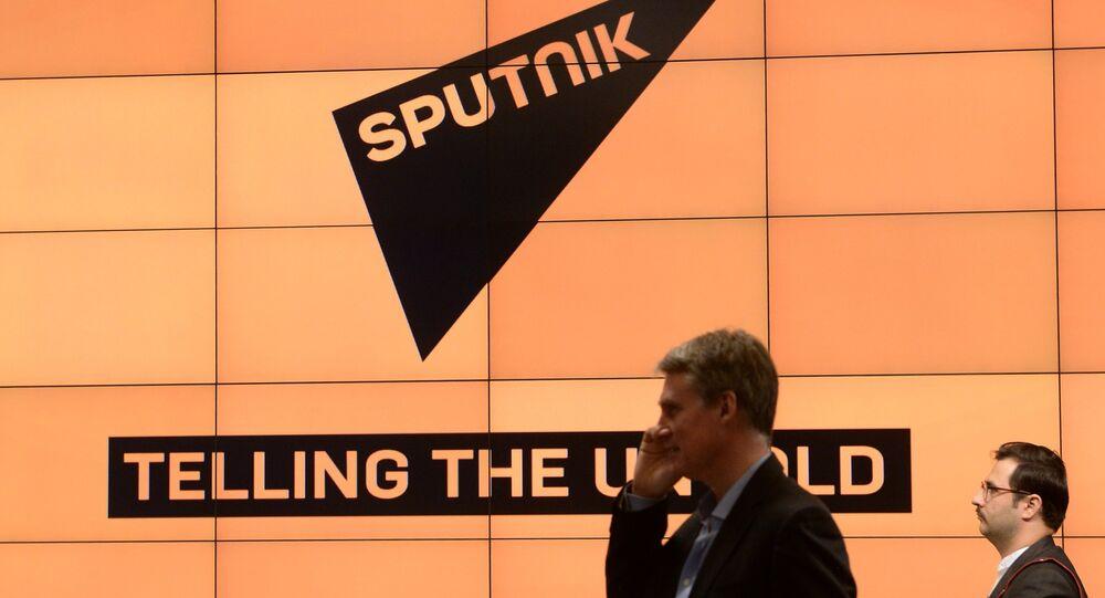 Présentation de l'agence d'information multimédia Sputnik