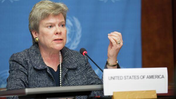 La sous-secrétaire d'Etat américaine Rose Gottemoeller - Sputnik France