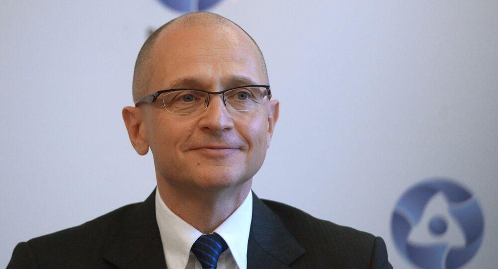 Le directeur du groupe nucléaire public Rosatom Sergueï Kirienko (Archives)