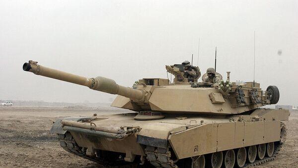M1A1 Abrams tank - Sputnik France