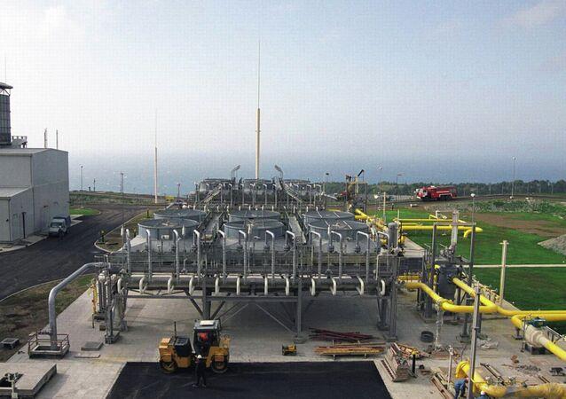 Station de compression sur le gazoduc Blue Stream