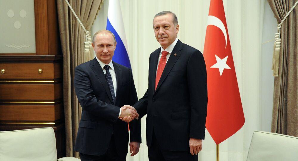 Vladimir Poutine et Recep Tayyip Erdogan (archives)