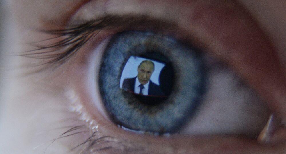 Propagande russe. Image d'illustration