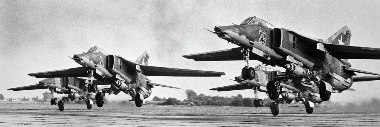 Chasseurs MiG: plus rapides que le son