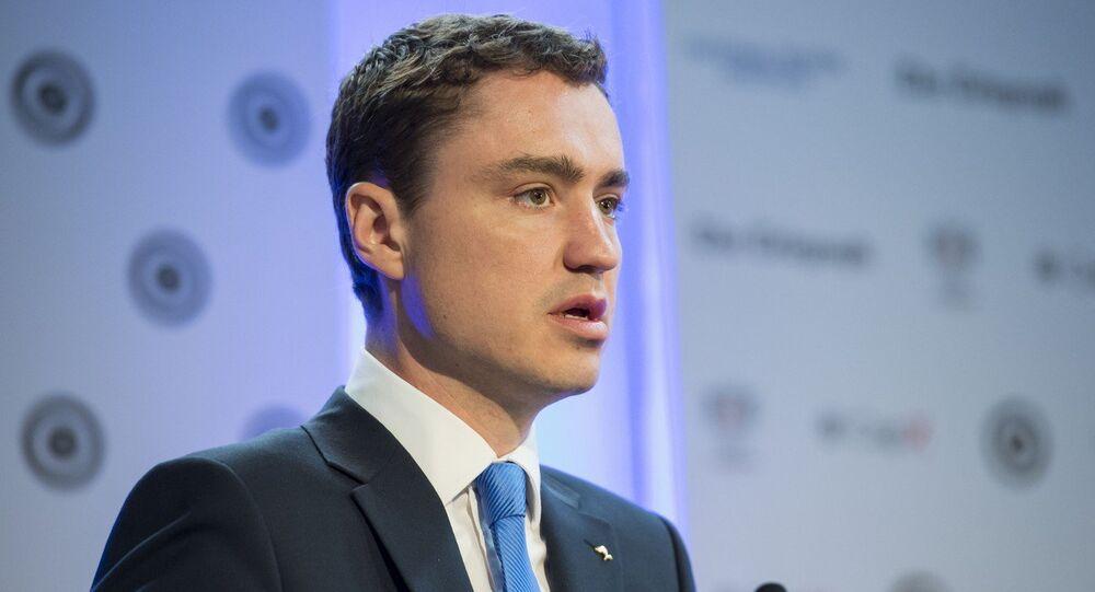 Taavi Roivas, premier ministre estonien