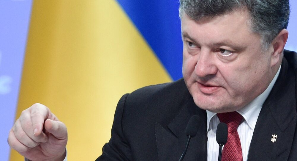 Président ukrainien Piotr Porochenko